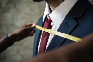 A bespoke suit measurement. Just like a bespoke suit, we tailor everything we do to fit you perfectly.